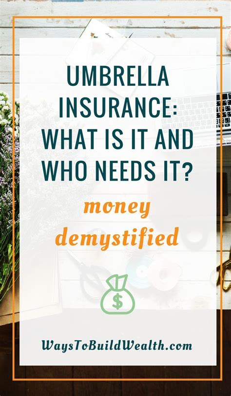 Umbrella insurance protects your assets from big insurance claims that exceed your basic policies. Umbrella Insurance: What is umbrella insurance and who needs it?   Umbrella insurance, Money ...