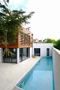 maison contemporaine lyon 5eme With eclairage exterieur maison contemporaine 13 amenagement exterieur zen contemporain piscine lyon