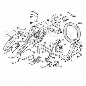 27 Stihl Ms210 Chainsaw Parts Diagram