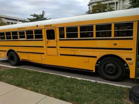 international amtran school bus rear engine partial