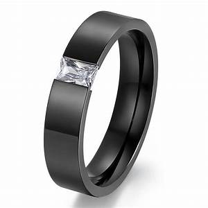 gold filled fashion wedding rings for men and women With stainless steel wedding rings men