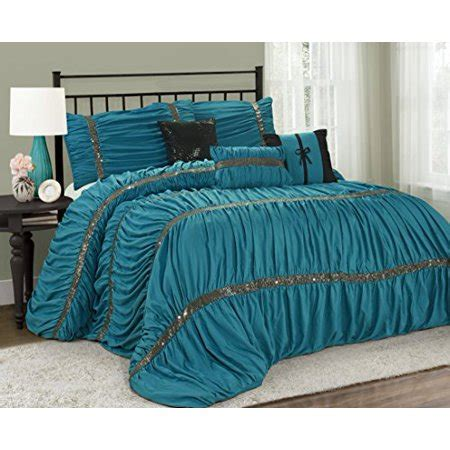 bedding sets clearance queen unique home 7 claraita chic ruched pleated bed in a