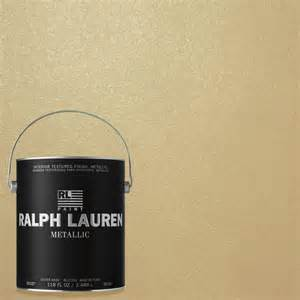 home depot paints interior ralph 1 gal pale luster gold metallic specialty finish interior paint me132 the home depot
