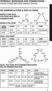 12 Lead 480v Motor Wiring Diagram