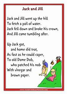Jack And Jill Nursery Rhyme Dirty ~ TheNurseries