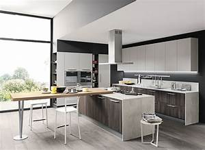 Stunning isola cucina con tavolo pictures ideas design for Tavolo isola cucina