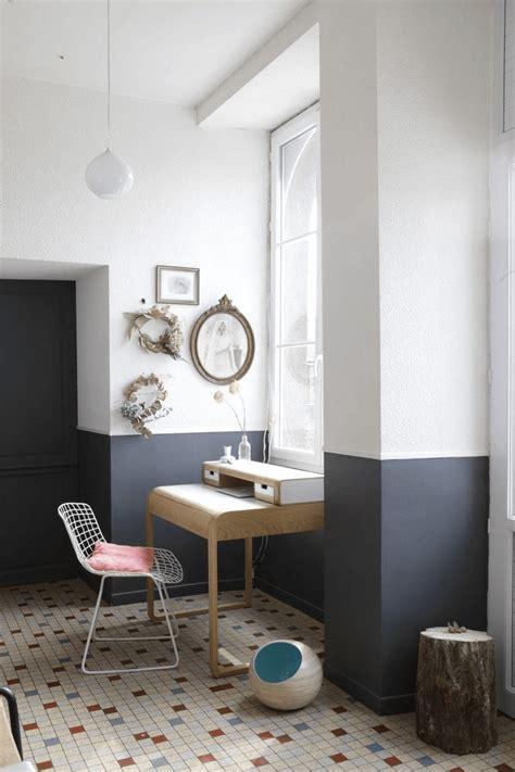 tendance peindre ses murs  moitie frenchy fancy
