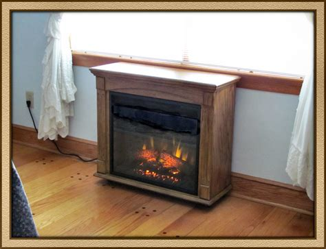 rolling electric fireplace gallery