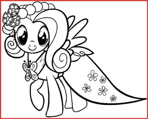 My Little Pony Ausmalbilder Fluttershy