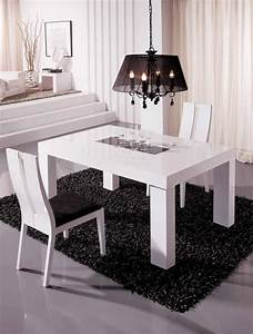 Suspension Salle à Manger : table salle manger extensible et design en 35 images ~ Teatrodelosmanantiales.com Idées de Décoration