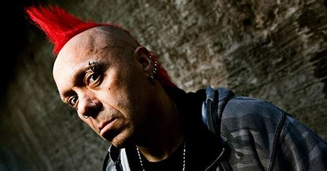 scots punk band  exploited cancel european   frontman  heart attack  stage