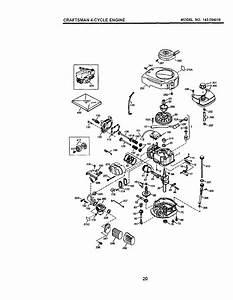 Craftsman 944360050 User Manual High Wheel Weed Trimmer