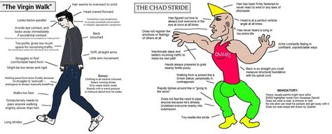 Chad Meme - i ve been collecting these virgin vs chad memes justneckbeardthings