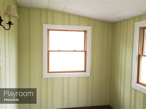 painting wood paneling brushes rollers and rather