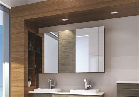 Mirrored Bathroom Cabinets by Home Showerama