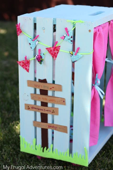 How To Make A Doll Wardrobe Closet by Diy American Doll Closet My Frugal Adventures