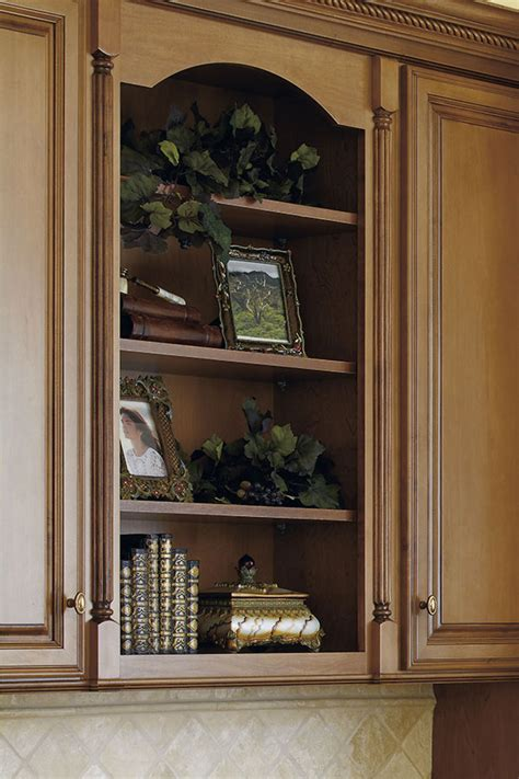 arched valance decora cabinetry