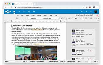 LibreOffice screenshot #1