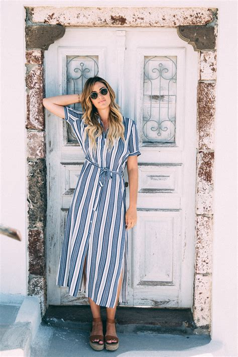 Dash of Darling Shares What to Wear in Pyrgos Santorini Greece