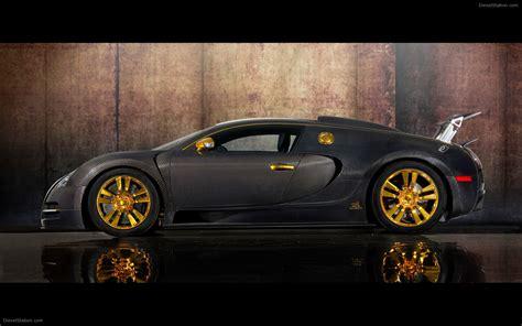 Mansory linea vincero d'oro bugatti veyron. Mansory Bugatti Veyron Linea Vincero dOro Widescreen ...