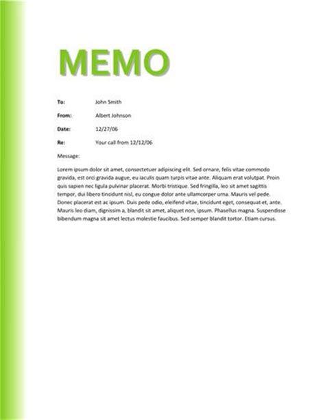 green gradient memo design memo template  memo