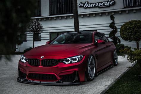 perfettamente bmw   coupe  rosso opaco su  zp