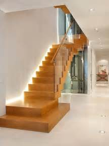 ranch style home interior design stairwell lighting in your custom built home design