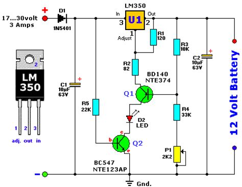 Lead Acid Battery Charger Electronics Lab