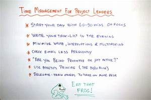 Top Time Management Skills For Project Leaders