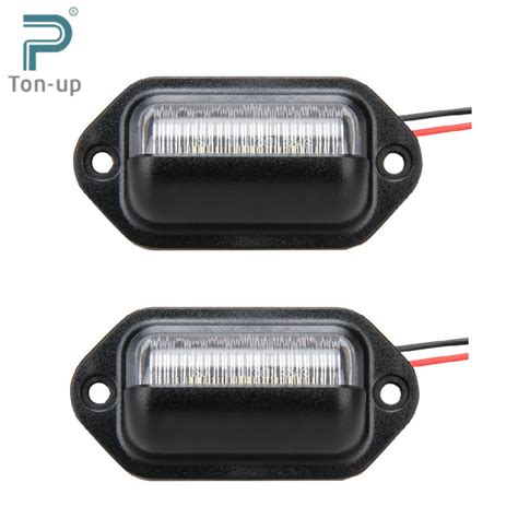 License Plate Light by 2x 12v Bright 6leds License Plate Light L Bulbs Number