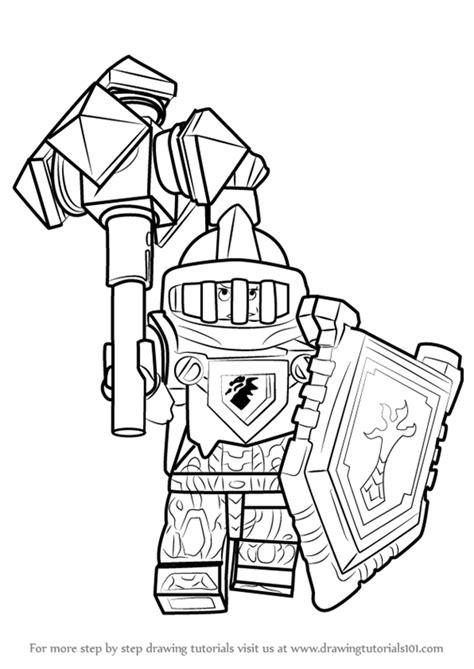 Kleurplaten Nexo Knights Clay by Learn How To Draw Macy Halbert From Lego Nexo Knights