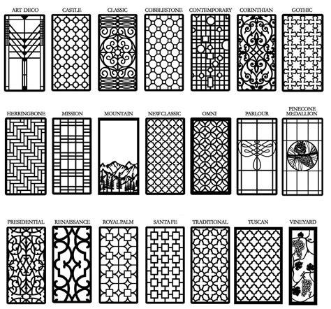 Decorative Cabinet Window Door Insert Grilles Living
