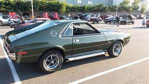 1970 Amc Amx Go Pack 390 4 Speed Trendsetters Shadow Mask