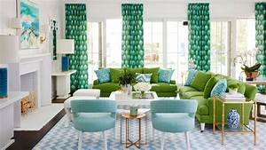 Our Favorite Green Rooms - Coastal Living