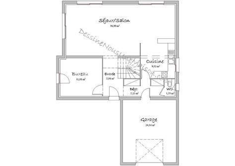 plan maison 1 chambre plan maison etage 4 chambres 1 bureau solutions pour la
