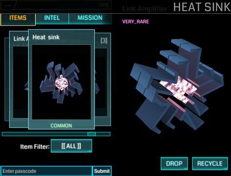 ingress heatsink heat sink portal mod ingress items ingress guide