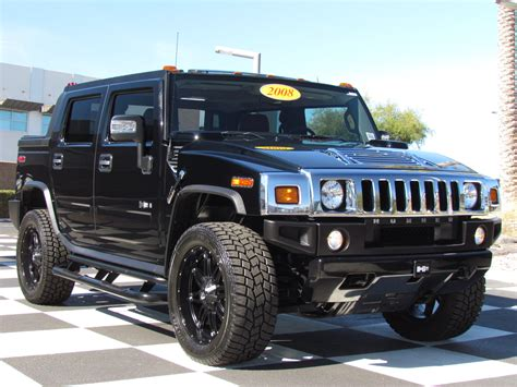 White Hummer H2 Lifted Wallpaper 1600x900 12142