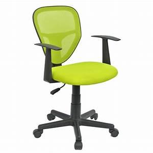 Chaise Pour Bureau : chaise de bureau pour enfant studio vert mobil meubles ~ Teatrodelosmanantiales.com Idées de Décoration