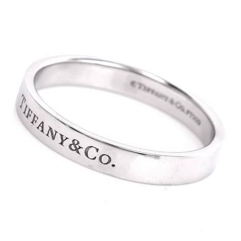 tiffany and co men s platinum wedding ring for sale at