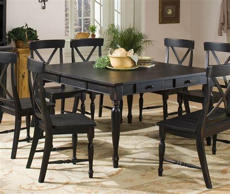 Black Wood Dining Room Set [mariorangecom]
