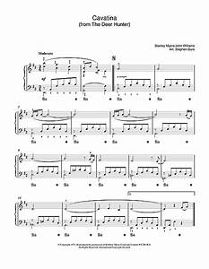 Cavatina (from The Deer Hunter) sheet music by Stanley