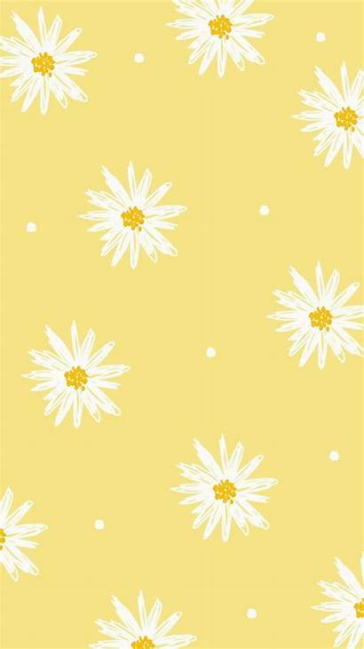 Yellow Pastel Wallpapers Iphone Aesthetic Patterns Phone