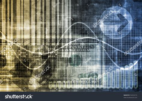 Abstract Economics Wallpaper by Digital Economy Abstract Business Concept Wallpaper