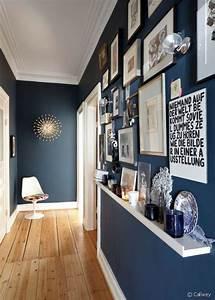 beautiful deco mur couloir photos design trends 2017 With marvelous couleur pour couloir sombre 1 5 idees deco pour un couloir joli place