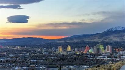 Reno Nv Nevada Rate Population Biggest