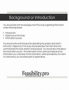 Feasibility study template free download for Feasibility study template free download