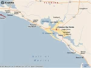 Destin Florida Map Panama City Beach