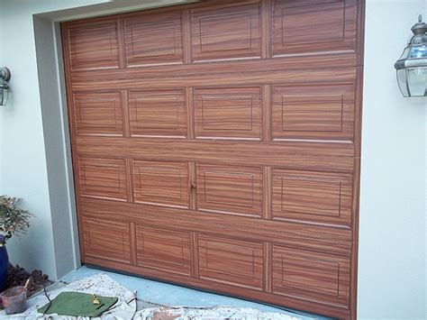 create paint garage doors    wood
