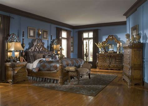 sovereign traditional luxury king poster bed bedroom