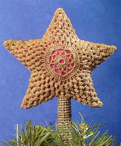 ot crochet ornament toppers